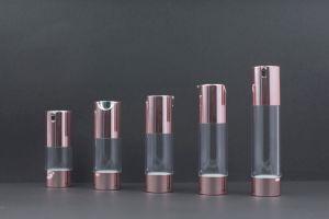 15ml/25ml/30ml/40ml loção embalagem personalizada vazio de essência de cosmética do vaso