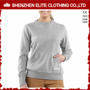 La massa all'ingrosso ha personalizzato le magliette felpate stampate per le signore (ELTSTJ-783)