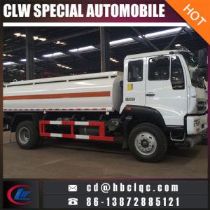 Sino caminhão do transporte do combustível do tanque de petróleo de Huanghe 15m3 16m3