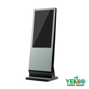 HD-de-chaussée kiosque à écran tactile à commandes à l'intérieur de la publicité l'écran LCD