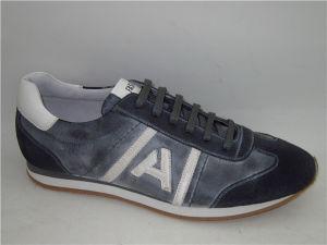 Cuero PU Mens zapatos deportivos