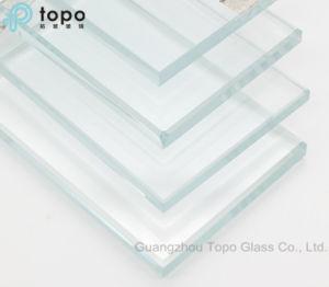 3mm-19mm ultra clair blanc armoire porte coulissante en verre décoratif (UC-TP)