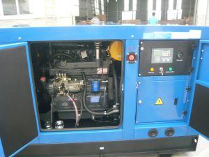 Groupe électrogène diesel silencieux avec l'engine 30kw de Ricardo