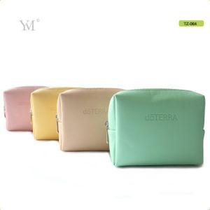 Senhoras novo Mini Moda Couro PVC Personalizado Saco de maquiagem Cosméticos