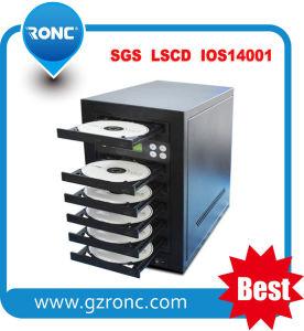 Máquina estable Duplicador de CD DVD 1 cajón con 7 bandejas