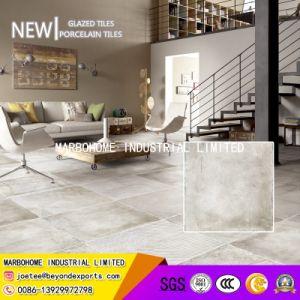 完全なボディー・セメントの灰色の磁器によって艶をかけられるマットの無作法なタイル(MB69018)壁およびフロアーリングのための600X600mm
