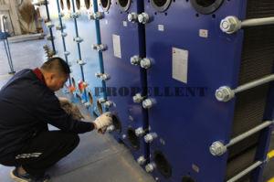 版の熱交換器に水をまく柔軟な設定水