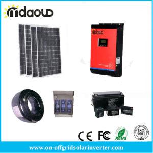 Вкл./выкл. комплект солнечной поверхности/ 3000VA инвертор MPPT 2400 Вт зарядное устройство