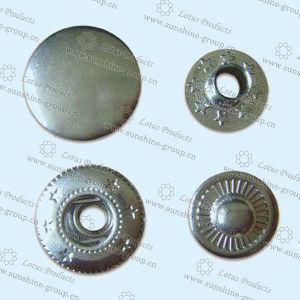 Botão de encaixe de metal mais vendidos