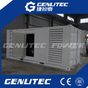 1000kVA containerisierter Cummins Dieselgenerator mit Kta38-G5 Cummins Engine
