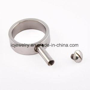 DIYの宝石類の交換可能なステンレス鋼のビードのリング