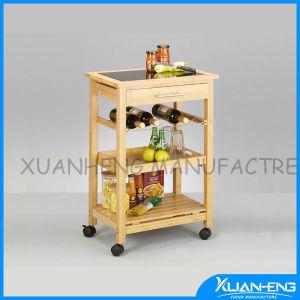 Новые Киото бамбук домашняя кухня хранения подвижного состава в корзину остров тележки