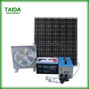 La generadora de energía solar portátil para el Hogar Electricidad (TD-60W)
