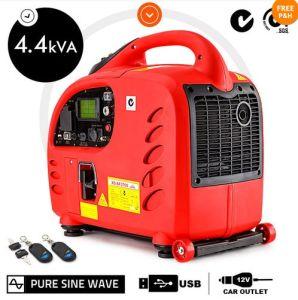 Générateur à essence portable avec prise USB et prise de voiture