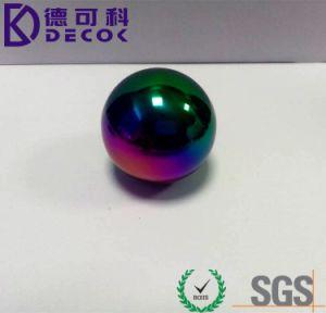 gebied van de Ballen van de Kleur van het Roestvrij staal van 50mm het Grote Holle