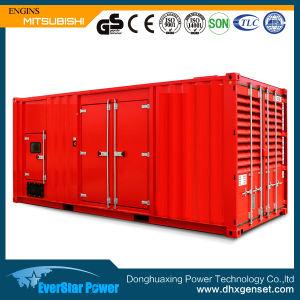 Mitsubishi Engine 725kVA Silent Diesel Generator Set