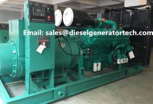Компрессоры с водяным охлаждением 2200 квт дизельного двигателя Cummins генераторная установка для промышленного