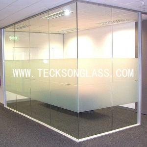 Une douche en verre trempé transformés Frameless/ porte / de cloison de verre /salle de bains