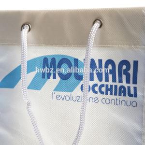 Pliable de sacs de magasinage d'impression couleur personnalisée