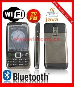 Duplo SIM Java WiFi Sensor de gravidade de câmara dupla TV Bluetooth Celular (W005)