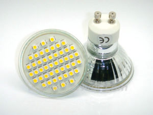 48LEDs 3528 SMD GU10 LED Scheinwerfer (JR-S35-GU10-48)