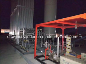 L-CNG에 의하여 미끄럼 거치되는 가스 규칙 및 기체화 장비