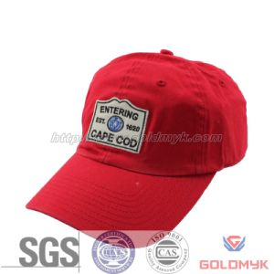 Tampa vermelha, 6 Painéis Pac, Applique Cap (GKA01-A00032)