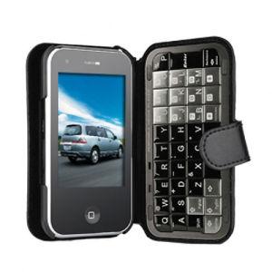 De Telefoon Dubbele SIM Qwerty van Quadband van de hoge snelheid met Unieke Ontwerp van de Telefoon van TV WiFi het Mobiele van het Gebruiksklare Toetsenbord