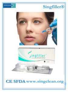 Ce Singfiller ácido Hyaluornic implantes inyectables para la cara profunda (2.0ml)