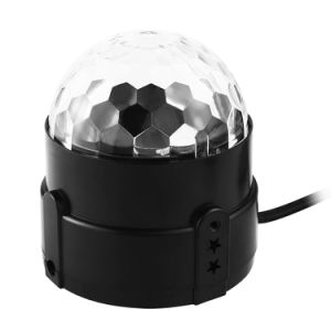 Control de sonido Rgbpw Magic Ball fase foco LED Iluminación discoteca