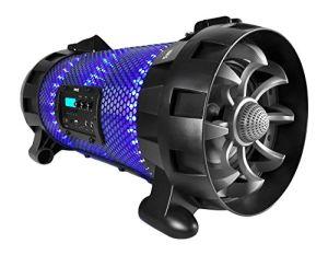 Bluetooth de alta potencia boombox con luces LED intermitente (P-137L)