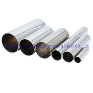 Fábrica de Foshan Inox 304 soldar tubos de acero inoxidable