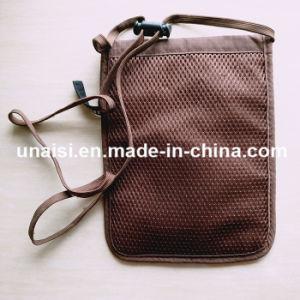Protecção contra roubo titular de passaporte RFID ocultos Pescoço Carteira de Viagem
