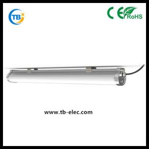 El aparejo de armazón resistente al agua IP65 30W/40W/50W/60W 3150LM Tri-Proof Tubo de luz LED