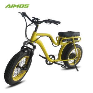 Aimos 36V/48V 500W Venta caliente 20''*4.0 Neumático Fat Bicicleta eléctrica