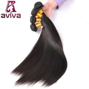Commerce de gros hair extension Remy Virgin Cheveux humains brésilien