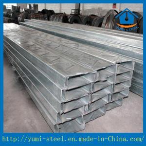 Correas Sección C de acero galvanizado para la construcción de la estructura de acero