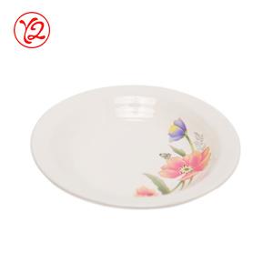 L'artisanat abordable émaillé de porcelaine Vaisselle défini pour la Corée du marché de la plaque