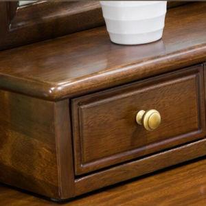 Nuova apprettatrice moderna di legno solido di disegno per uso della camera da letto (AS831)