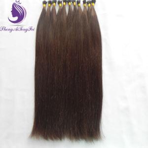 #4 Cor Castanha Virgem Humano Remy Nano Ring Extensão de cabelo