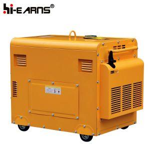 5000ワットの無声ディーゼル発電機(DG6500SE)