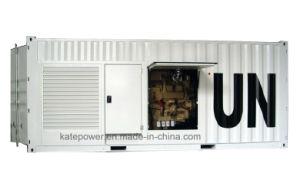 Cummins Kta38-G5 Stamford로 1000kVA/800kw에 의하여 컨테이너로 수송되는 생성