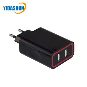 2 порт настенное зарядное устройство USB 5V 4.8A 24W два порта USB зарядное устройство для мобильных телефонов
