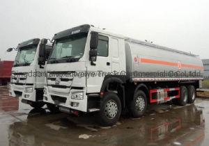 Sinotruk HOWO 336pesado HP 30cbm 8X4 Navio-tanque de combustível de veículo