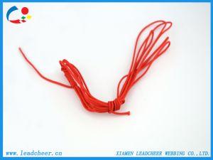 의복 단화를 위한 호리호리한 둥근 빨간 Eco-Friendly 탄력 있는 코드