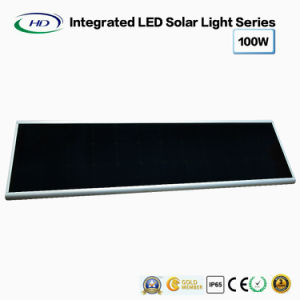 100W Integrated solar Calle luz LED