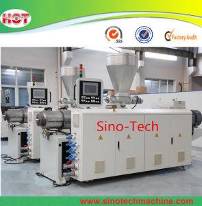 La Chine en matière plastique prix d'usine vis conique en PVC double feuille de profil pour le tuyau de l'extrudeuse