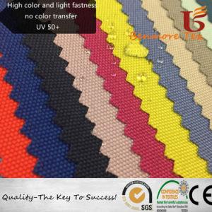 Hohe Farbe und Licht-Festigkeit PU-überzogenes Polyester-Oxford-Gewebe für Yacht
