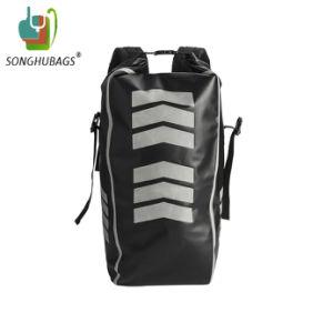 Custom Дрсуга новой моды ПВХ брезент черных школьных спортивных мероприятий на улице поездки охоты в поход водонепроницаемый сухой рюкзак сумки через плечо