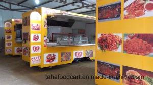 流動的な事業の食糧キオスクのケイタリングのトレーラーの深いフライヤーの食糧トレーラー